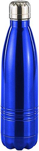 Rosenstein & Söhne Thermoflasche: Doppelwandige Vakuum-Isolierflasche aus Edelstahl, 0,5 Liter (Thermo Trinkflaschen)