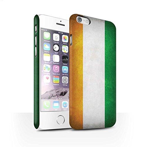STUFF4 Matte Snap-On Hülle / Case für Apple iPhone X/10 / Australien/australisch Muster / Flagge Kollektion Elfenbeinküste
