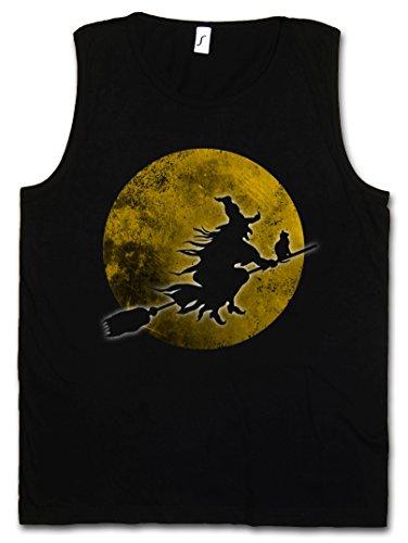 (Witch Moon Herren Männer Tank Top Training Shirt - Sizes S - 5XL)
