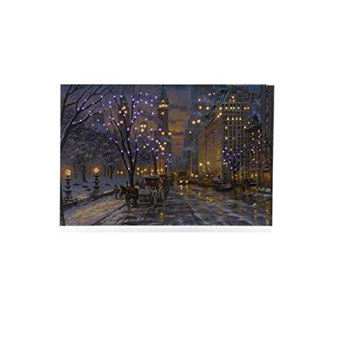 LED Rahmen mit New York Motiv Central Park -