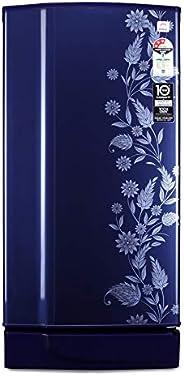 Godrej 190 L 3 Star Inverter Direct-Cool Single Door Refrigerator (RD 1903 PTI 33 DR BL, Royal Drenim, Inverte