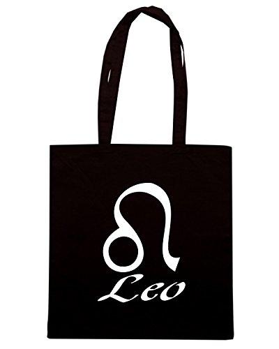 T-Shirtshock - Borsa Shopping T0214 Leone religioni celtic Nero