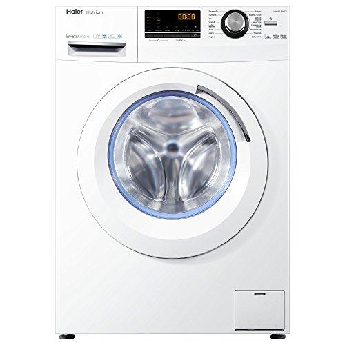 Haier HWD80-B14636 Waschtrockner/A / 1080 kWh/Jahr /1400 UpM / 8 kg Waschen / 5kg Trocken/Endzeitvorwahl / AquaProtect/Weiß