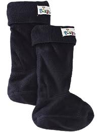 Playshoes Fleece Socks Wellies Rubber Boots - Botas para niño