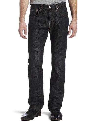 Levi's - 501 Levi's® Original, Jeans da uomo, nero (iconic
