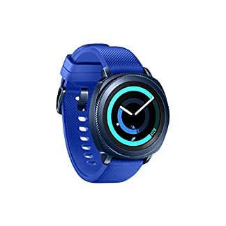 Samsung Gear Sport – Smartwatch, Tizen, 768 MB de RAM, memoria interna de 4 GB, color azul, 1.2″- Version española