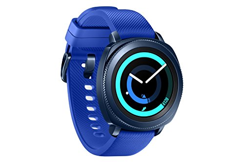Samsung Gear Sport - Smartwatch, Tizen, 768 MB de RAM, memoria interna de 4 GB, color azul, 1.2'- Version española