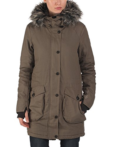 Bench - Parka WOLFISH II B, Giacca Donna, Marrone (Bungee Cord), XS (Taglia Produttore: XS)
