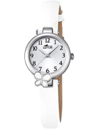 Reloj Lotus Niña Comunión 18263/1 Flor Blanco