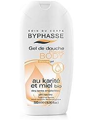 Byphasse Plaisir Gel de Douche au Karité et Miel Bio -