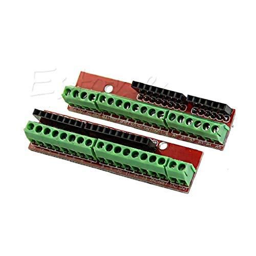 Watermk UNO R3 Arduino Proto Schraube Sensor Shield V2 Erweiterungskarte Kompatibel Arduino -