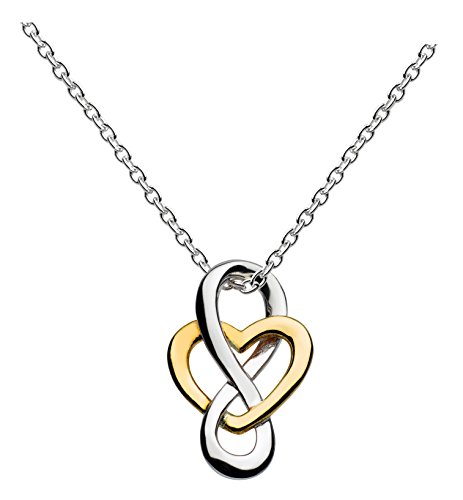 heritage-sterling-silver-and-yellow-gold-plated-celtic-looped-heart-necklace-of-length-457-cm