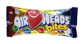 Airheads Bites Original Fruit - Confiseries Américaines Fruitées - Lot de 6 Sachets de 57 g