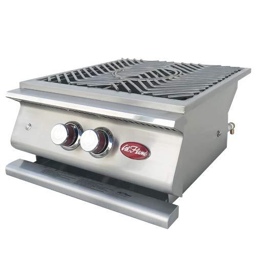 Cal Flame 089245002482 Power Burner LP, Edelstahl
