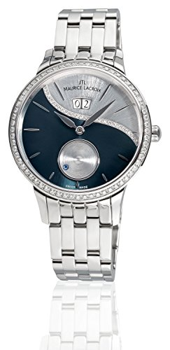 Maurice Lacroix Starside Magic Seconds Diamonds SD6207-SD502-450-1 - Orologio da polso da donna, analogico, automatico, con cinturino in acciaio INOX, con 95 diamanti