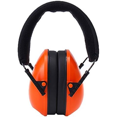 Le cuffie acustiche protezione- Junior Cuffia protettiva per i bambini, Ear Protection imbottito, piccoli adulti, (Stile Pieghevole Delle Cuffie)