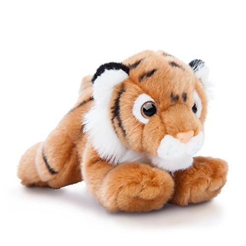 Aurora World Luv to Cuddle-Peluche a forma di tigre, colore: marrone/bianco/nero