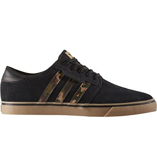 adidas Herren Seeley Skateboardschuhe, Mehrfarbig (Negbas/Carton/Gum4), 44 EU (Skateboarding Adidas)