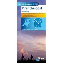 ANWB Fietskaart 5 Drenthe Oost 1 : 50 000: Hondsrug