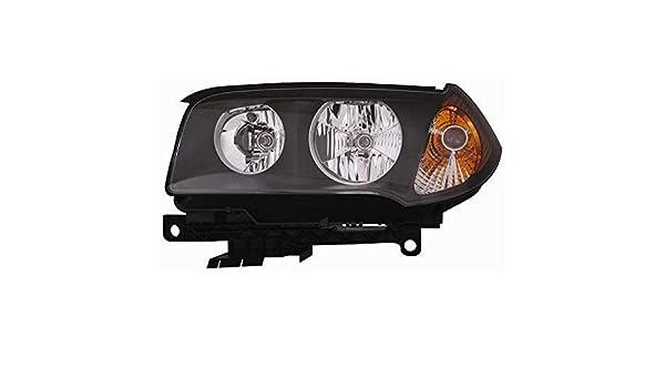 Indicatore Di Direzione Arancio Lato Guida - Parab 7445610473418 Derb Faro Proiettore Sx Sinistro Nera