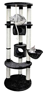 Kerbl Empire Cat Tree, 168 x 57 cm Dia, Anthracite by ALBLL
