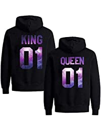 Daisy for U Pärchen Hoodie King Queen Pullover 1 Stücke