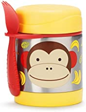 Skip hop Zoo Insulated Food Jar - Monkey (Multicolor)