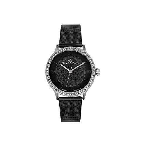 Orologio donna Yonger & Bresson nera–DCC 095s-3am