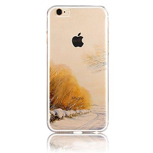 iPhone 7 Hülle, iPhone 7 Schutzhülle, Vandot Handyhülle für iPhone 7 Handytasche (4.7 Zoll) TPU Sillikon Diamant Bling Kristall Transparent Muster Case Cover Glänzend Malerei Durchsichtig Thin Pattern Color 20