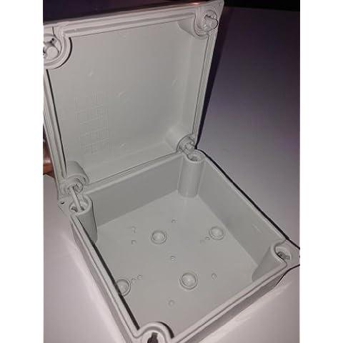 Caja Conexiones Exterior IP65 Resistente a La Intemperie Blanco para CCTV Cables Etc 100 x 100 X 55