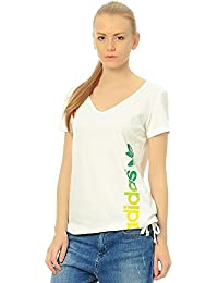 Adidas Originals - T-shirt - Logotipo Wn - Blanc