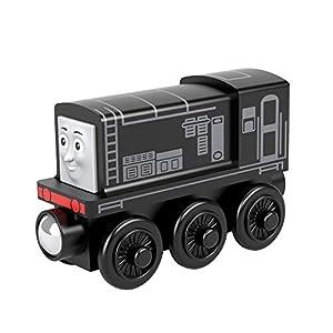 Thomas & Friends - Locomotra Diésel de madera Tren de juguete niños +2 años (Mattel GGG35)