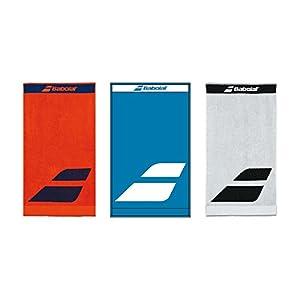 Babolat Tennis Handtuch blau mit Logo