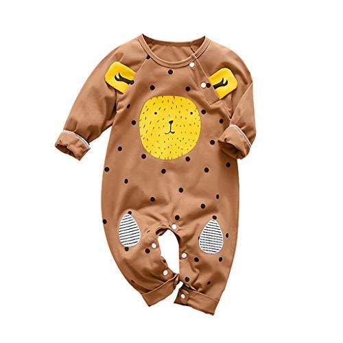 Bären Kostüm Mama Baby Papa Und - Yogogo Unisex Cartoon Bär Baby Strampler Schlafanzug Warme Jungen Jumpsuit Lange Ärmel Neugeborenen Outfit Mädchen Spielanzug Hose Lose Nachtwäsche Säugling Bodysuit Geschenk Festlich Kostüm