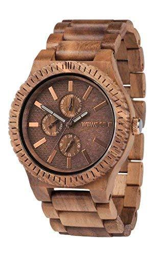 Wooden Watch Wewood Kappa Mb Steel Dial Black Blue 70363309 Armband- & Taschenuhren Armbanduhren
