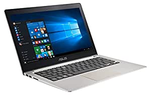 ASUS Zenbook UX303UB-R4100T 33,8 cm (13,3 Zoll FHD) Laptop (Intel Core i7 6500U, 4GB RAM, 512GB SSD, NVIDIA GeForce 940M, Win 10) braun