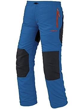 Trango Saja SN - Pantalón largo para niños, color azul oscuro / marrón oscuro, talla 16