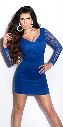 In-Stylefashion - Robe - Femme Beige Beige Bleu - Bleu
