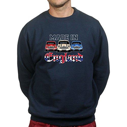 Austin Mini MK1 MK2 Car Made In England Sweatshirt Mini Herren Sweatshirt