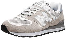 New Balance Herren 574v2 Core Sneaker, Mehrfarbig (Nimbus Cloud/ML574EGW), 47.5 EU