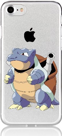 Handyhülle Pokemon Japan Manga kompatibel für Sony Xperia XA1 Ultra Turtok Schutz Hülle Case Bumper transparent M5 (Ultra Glurak)