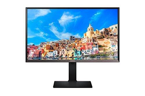 Samsung S27D850T 68,6 cm (27 Zoll) Monitor (DVI, HDMI, USB 30, DisplayPort, 5ms Reaktionszeit, 2560 x 1440 Pixel) schwarz/silber