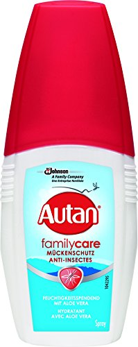 Autan linea family care vapo spray delicato insetto-repellente 100 ml