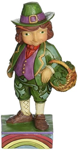 Enesco Jim Shore Figur Leprechaun Mini -