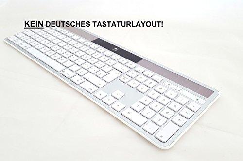 Logitech K750 Wireless Solar Keyboard for Mac - Grau Mac Tastatur kabellos