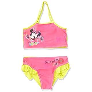 Arditex wd9291Minnie Mouse Badeanzug/Bikini von 2bis 6Jahren Polyester Rosa 27x 25cm 2-teilig