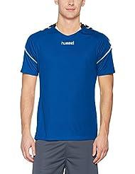 Hummel AUTH Charge SS Poly Jersey Camiseta, todo el año, hombre, color true blue, tamaño XL