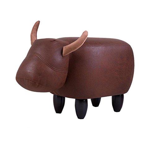 FSML-Fußhocker & Polsterhocker Kreative für Schuhhocker Home Storage Test Schuhe Footer Chair Bench (Länge: 63cm, Breite: 33cm, hoch 36cm) (Farbe : A)