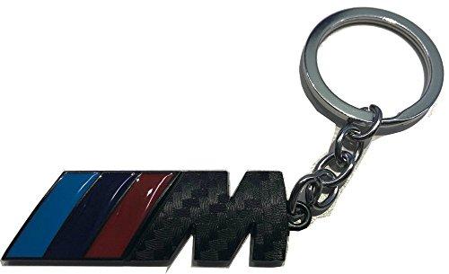 VR46 Keyring///M BMW Motorsport Black Carbon Keychain