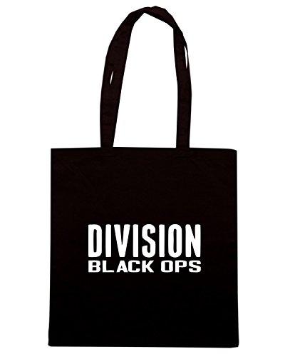 T-Shirtshock - Borsa Shopping OLDENG00464 division black ops nikita Nero